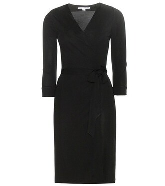 dress wrap dress new black