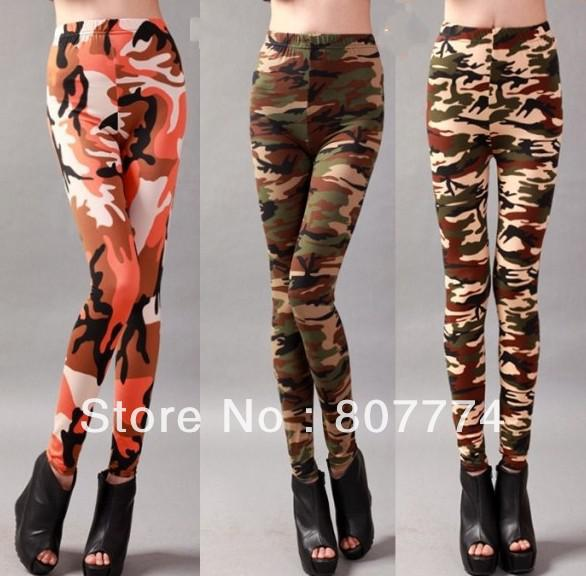 Summer Camouflage Color 02020 Cheap Korean By Stretch Material Spring Pattern For beigearmy Online Military Orange Pant Legging Green Women's vb7yIY6gfm