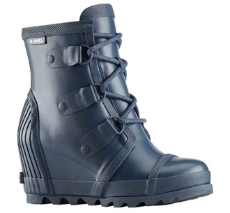 shoes boots black wedges pink rock punk retro