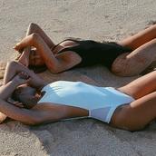 beach,swimwear,one piece swimsuit,dope swimwear,black swimwear,one piece,bikini,hot,grunge,bodies,girl