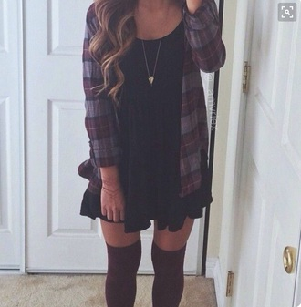dress clothes outfit hipster grunge long socks