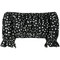Dolce & gabbana polka dot print cropped top, women's, size: 38, black, cotton
