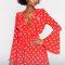 Arizona dress red dot - ivyrevel.com
