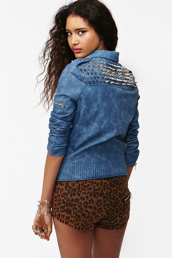 Blue in  what's new at nasty gal