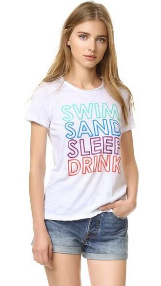 sleep white top