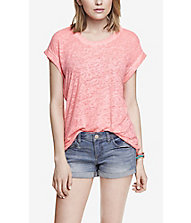 BURNOUT BOYFRIEND TEE from EXPRESS