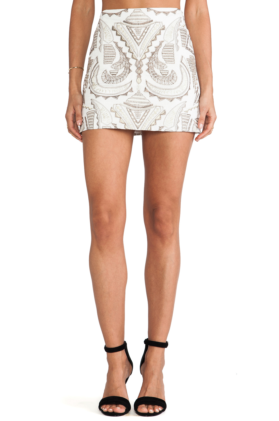 BLAQUE LABEL Skirt in White | REVOLVE