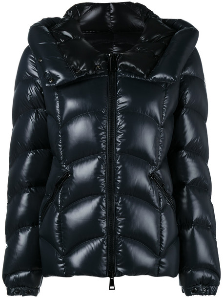 moncler jacket women quilted blue