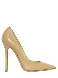 120mm anouk leather pointed pumps