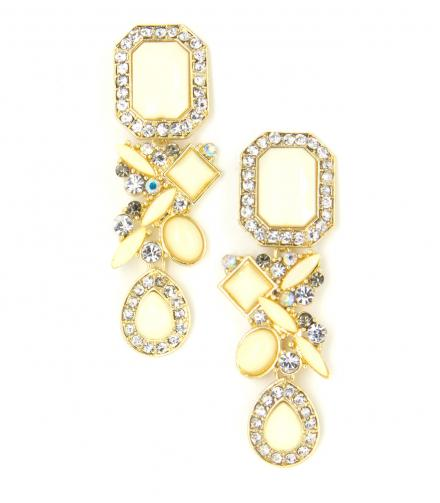 Ivory Masterpiece Dangling Earrings