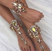 jewels,gold,foot bracelet,leg bracelet,bridal,jewelry,body kandy couture,barefoot sandals,beach wedding barefoot sandals,gypsy wedding,foot chains,Toe chain rings,rhinestones,Crystal beach wedding barefoot sandals,Boho foot jewels,kundan,Indian foot bracelet,indian wedding Jewellery,Chunky rhinestones,foot bling,bling sandals,unique style,body chain,edgy jewelry,edgy,sexy,crystal,Gothic Jewelry