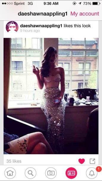 dress diamond skirt prom dress ring dance dress mermaid prom dress sparkly dress