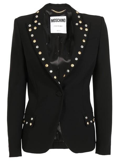 Moschino blazer embellished jacket
