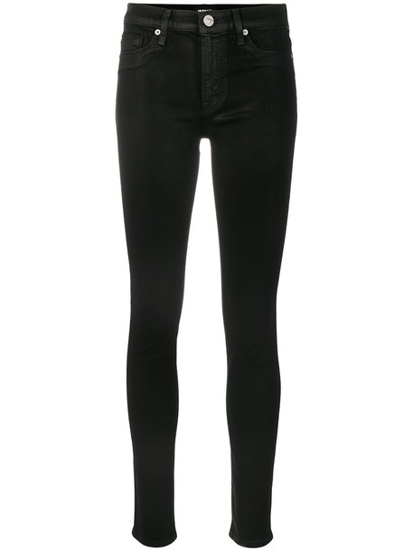 Hudson jeans skinny jeans women classic cotton black
