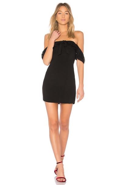 For Love & Lemons dress black