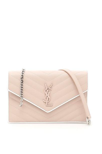 Saint Laurent clutch pink bag