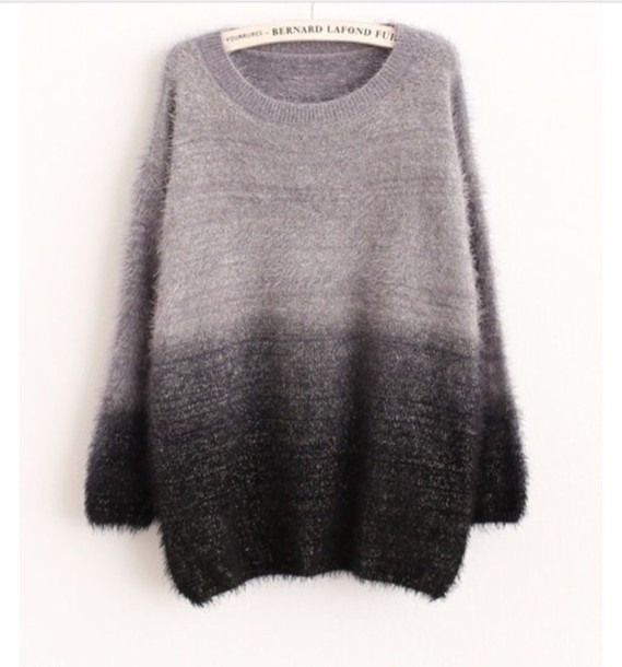sweater gradient