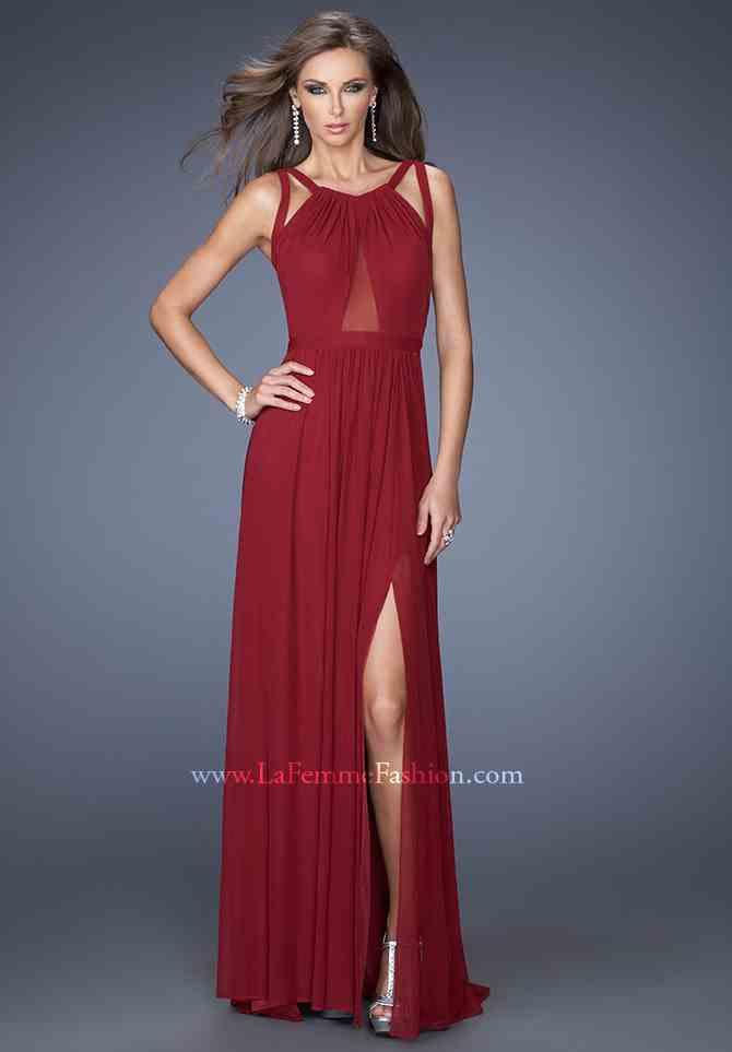2014 La Femme Open Back Prom Dress 20092