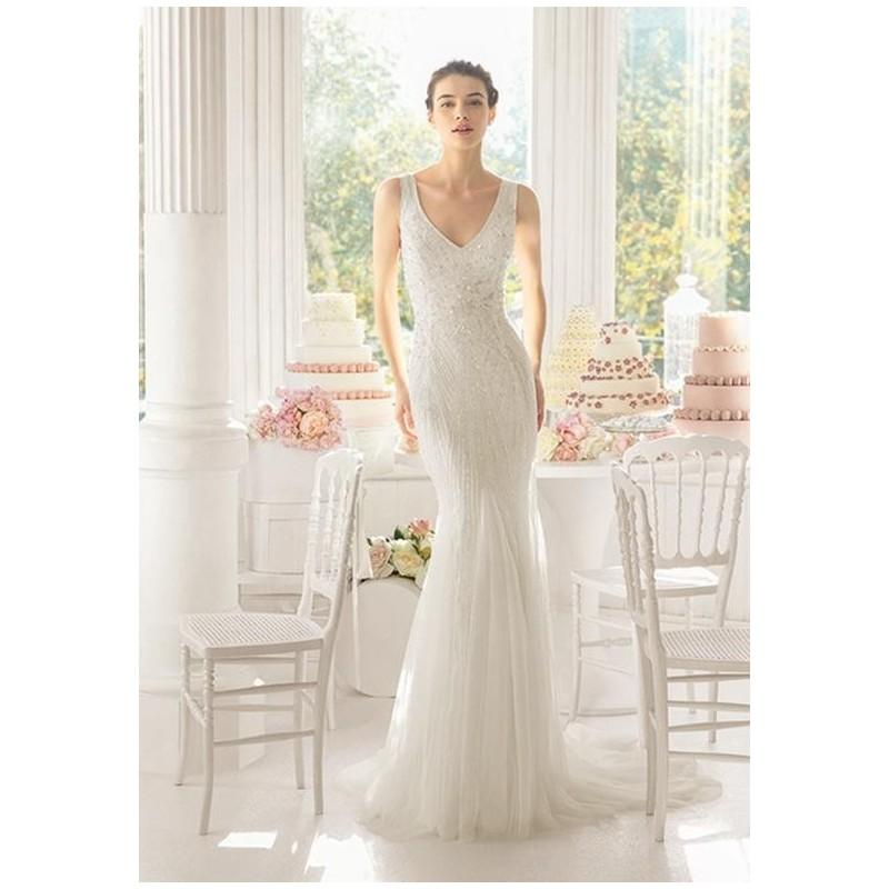 Aire Barcelona AJEDREZ Wedding Dress - The Knot - Formal Bridesmaid Dresses 2017|Pretty Custom-made Dresses|Fantastic Wedding Dresses