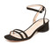 Marc jacobs olivia city sandals - black