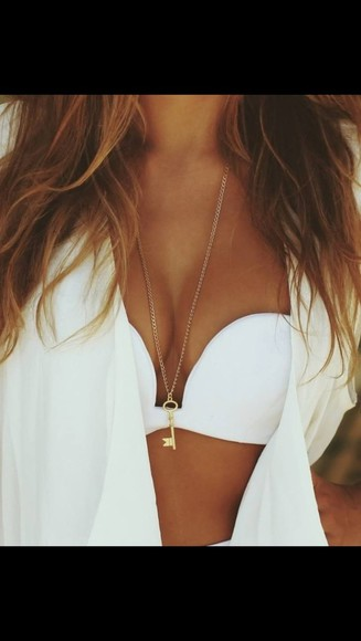 jewels swimwear white bikini