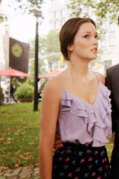 blouse,purple ruffle pretty cute top,top,purple blair waldorf