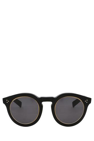matte sunglasses black