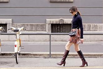 onto my wardrobe blogger sweater skirt bag shoes