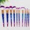 M-thr005 blusher makeup brush set 10pcs