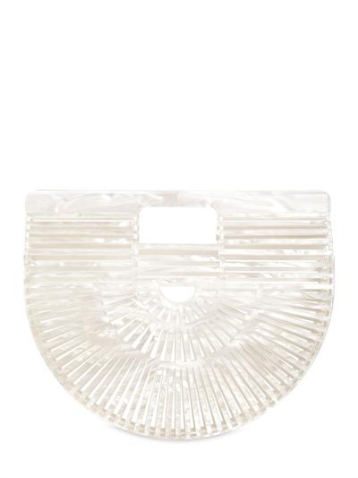 CULT GAIA, Small gaia's ark pearl acrylic bag, White, Luisaviaroma