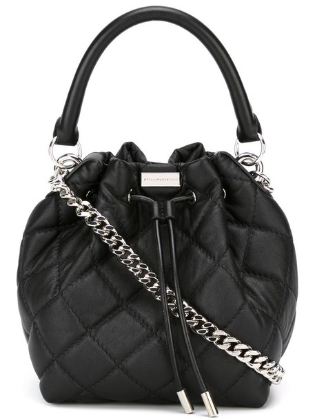 Stella McCartney quilted black bag