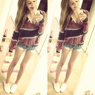 sweater acacia brinley shoes hipster clothes sexy sweater beautiful shirt shorts pockets