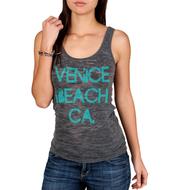 tank top,venice beach,burnout grey,burnout v-neck,burnout tanktop,grey tank top