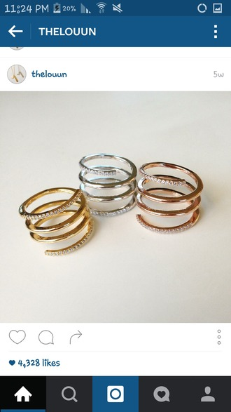 jewels ring set ring silver silver ring gold gold ring rose gold rose gold ring rings and tings
