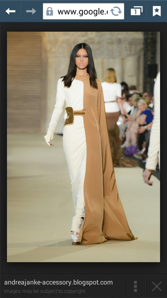 blouse white and brown white dress white and nude maxi dress white long maxi dress jewels nail polish