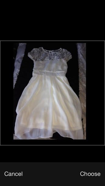 dress lace dress short sleeve lace back