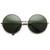 Oversize Vintage Inspired Metal Round Circle Sunglasses 8370                           | zeroUV