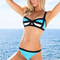 Bandage inspired padded bikini set by sheridyn resort designer swimwear | ebay