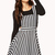 Striped Overall Dress | FOREVER21 - 2000074574