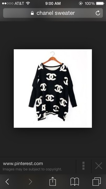 sweater chanel sweater