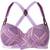 Marlies Dekkers - Gloria plunge balcony bra D-size + - women - Polyamide/Polyester/Spandex/Elastane - 80D, Pink/Purple, Polyamide/Polyester/Spandex/Elastane