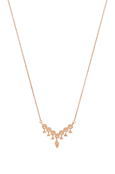 Luv Aj necklace metallic copper jewels