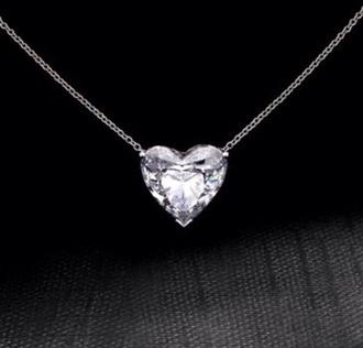 jewels necklace diamonds silver silver necklace diamond necklace