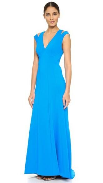 gown sleeveless dress