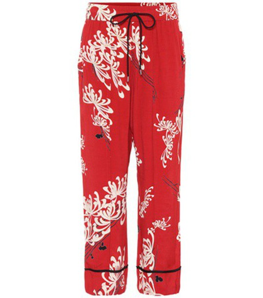 McQ Alexander McQueen red pants