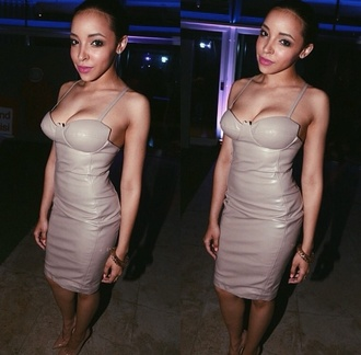 tinashe nude dress nude