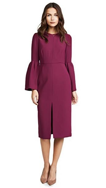 Jill Jill Stuart dress bell sleeve dress black