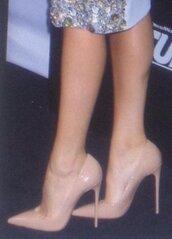 shoes,killer heels,beige heels,nude high heels