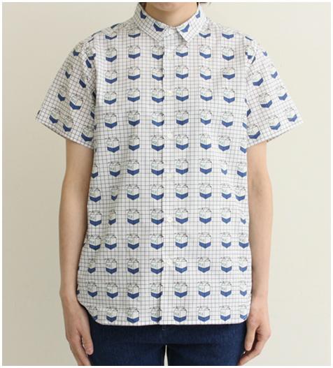 Kawaii milk box pattern blouse shirt from MoLa_MoLa on Storenvy