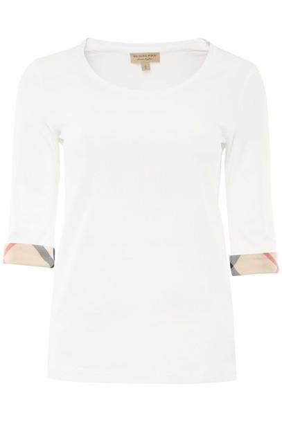 Burberry t-shirt shirt cotton t-shirt t-shirt cotton top